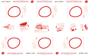 Los papieren tafelkleed (6 couverts)