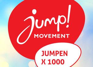 Jumpen met 1000 mensen